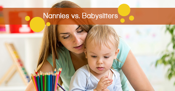 Differences between nannies and babysitters
