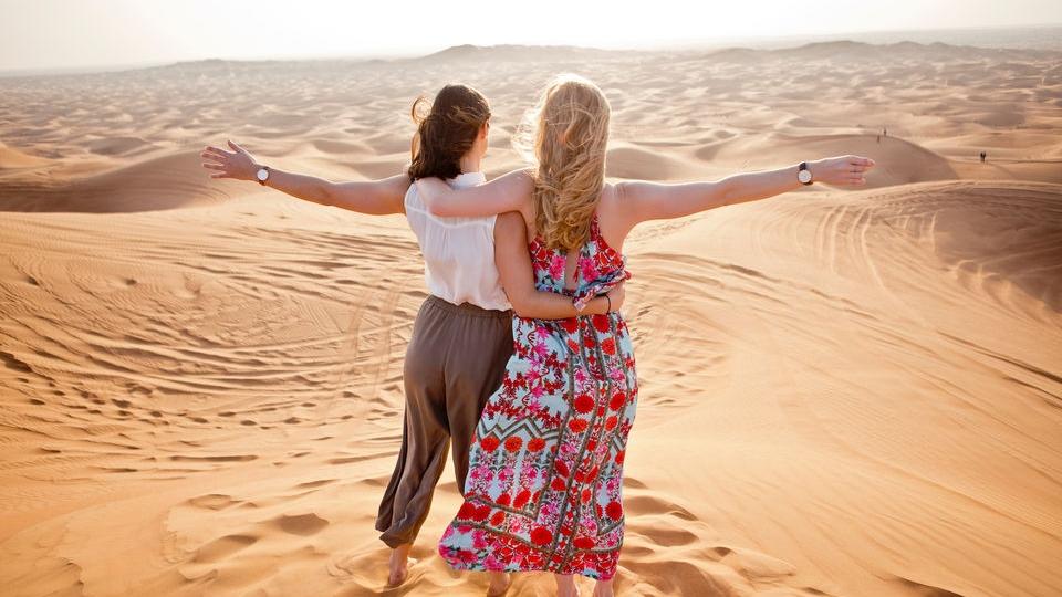 A look into desert safari